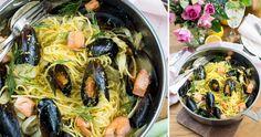 Linguine, Antipasto, Paella, Risotto, Spaghetti, Cooking Recipes, Ethnic Recipes, Food, Beautiful