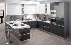 Cucina Mondo Convenienza Kitchen World Convenience Open Plan Kitchen Living Room, Kitchen Room Design, Kitchen Cabinet Design, Modern Kitchen Design, Kitchen Layout, Home Decor Kitchen, Interior Design Kitchen, Home Kitchens, Kitchen Colors