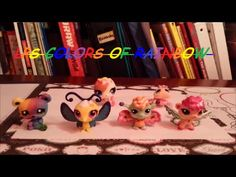LPS Colors Of The Rainbow Tag (Not Really) - YouTube