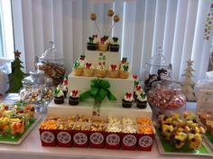Christmas Party Table #christmas #party