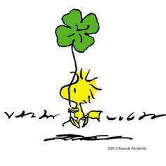 Patrick's Day 🍀💚Woodstock💚 - Katzen Snoopy Love, Snoopy Und Woodstock, Charlie Brown Snoopy, Snoopy Images, Snoopy Pictures, Peanuts Cartoon, Peanuts Snoopy, Peanuts Comics, Snoopy Wallpaper