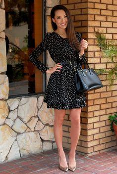 Hapa Time - a California fashion blog by Jessica - new fashion style - 2013 fashion trends: Polished Polka Dots
