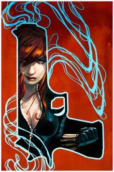 Stephanie Hans: Black Widow