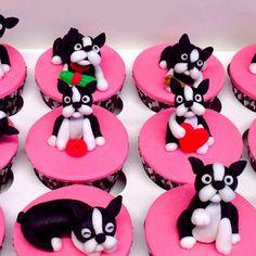 #BostonTerrier Cupcakes! - @ibostonterrier- #webstagram