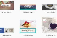 Sitio del día: FotoJet, una alternativa para crear imágenes para social media