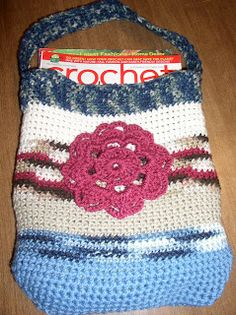 Crochet Galore: Unlined Book Tote