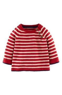 Free shipping and returns on Mini Boden Everyday Knit Sweater (Baby Boys) at Nordstrom.com. A touch of cashmere spins its way through a soft knit sweater wrapped in stripes.