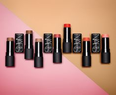 NArs Matte Multiples make up - luxury - beauty - lipstick - perfume - nail laquer - fashion - eyeshadow - model - pencil - eyes - mascara -violet - blue - magenta