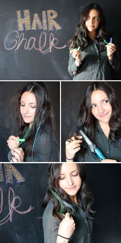 Hair Chalk: Add a Pop of Color to Your Do (+ Giveaway!)