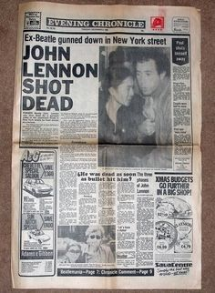 Historic Newspaper Headlines | NEWSPAPER HEADLINES etc : Old Newspaper articles from times past in ...