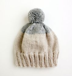 Etsy の Weekender Beanie in Grey MADE TO ORDER by helloquiettiger