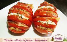 En este artículo os enseñamos a realizar unos tomates rellenos de una forma…