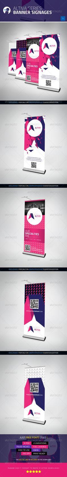 Altiva Series - Banner Signages - $8