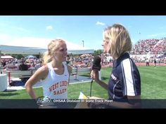 When you do the right thing, you are ALWAYS the best kind of winner. Kudos to Meghan Vogel! (Runner helps rival runner at State)