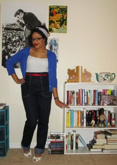 <3 this look from the ModCloth Style Gallery! Cutest community ever. #indie #style freddies of pinewood nautical rockabilly