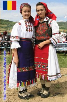 Romanian traditional customs clithes