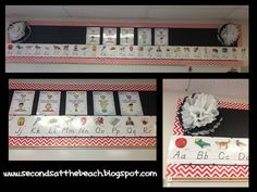 Decorating my second grade classroom! This is above the whiteboard.  Chevron boarder by Creative Teaching Press ( CPT )