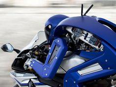 Derrière sa silhouette humanoïde, Motobot est truffé e capteurs en tous genres !