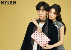 Jung Chae Yeon and Jinyoung Model 'Jill Stuart Accessories' in 'Nylon' Young Couples, Cute Couples, B1a4 Jinyoung, Jung Chaeyeon, Korean Couple, Korean Entertainment, Produce 101, Blackpink Photos, Kpop