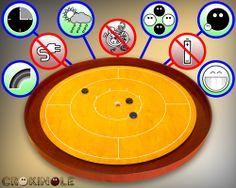 Ez csak néhány előnye a játéknak: 5-15 perc pörgős játékidő / nem igényel áramot, sem elemet / kettő-, három- és négyszemélyes játékmód / egyszerre játszhat vele a nagyi és az unokája / nem romlik el / rossz időben is játszató a meleg szobában / közel két tucat színben kapható  Hogy hol? Hát itt: www.crokinole.hu