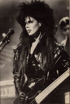 Patricia Morrison. Legal Weapon. The Gun Club. The Sisters of Mercy. The Damned.