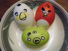 Angry Birds For Happy Easter