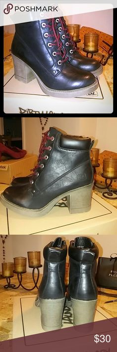 Brand New Lace up Platform Boots Perfect condition. Brand new Dirty Laundry Shoes Lace Up Boots