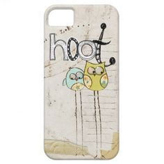 whimsical owl iphone 5 case.  $42.95