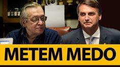 Olavo de Carvalho e o Plano para destruir Jair Bolsonaro