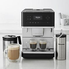 Miele CM6350 Coffee Machine Coffee Pot Function  Direct Sensor Control Panel  OneTouch for Two. Height Adjustable Coffee Spout