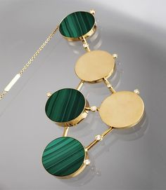 Taher Chemirik , malachite necklace