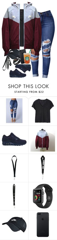 """Feb. 1, 2017"" by mcmlxxi ❤ liked on Polyvore featuring Deby Debo, NIKE and Givenchy"