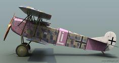 Fokker D.VII – Rudolf Stark - Airplanes - - Old Hangar