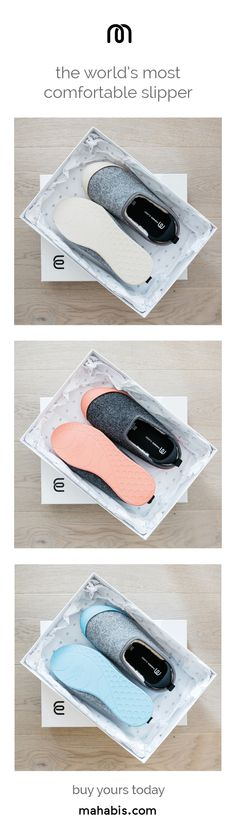"""""""a luxury gift"""" // treat someone special to award-winning slippers this valentine's. buy now!"""