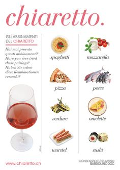 Wine pairings with Bardolino Chiaretto
