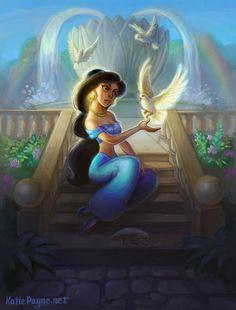 Jasmine by oneKATIE.deviantart.com on @DeviantArt
