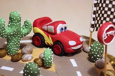 [pdz] - Torta Cars con Saetta