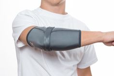 Flexxline's Triceps Support with Elbow Compression Sleeve is the perfect combination of focused triceps' pressure & elbow compression.