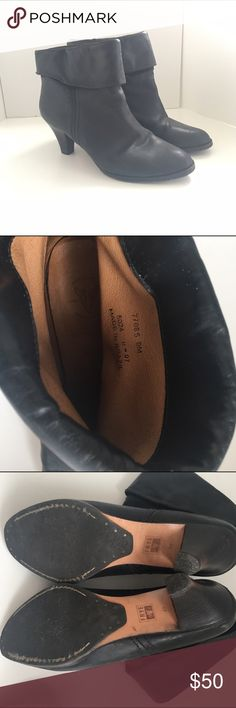 Frye Tina Shorty cuff booties, Black 9 In great shape, worn only a few times since they are slightly too big on me. Frye Shoes Ankle Boots & Booties