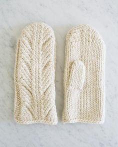 Ancient Stitch Mittens