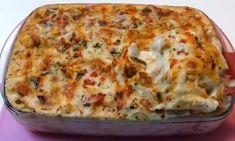 Quiche, Cauliflower, Lasagna, Macaroni And Cheese, Cooking Recipes, Pasta, Vegetables, Chicken, Breakfast