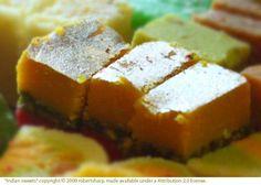 Indian Milk Cake, eat them 'til you are sick.