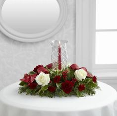 FTD Holiday Wishes Centerpiece