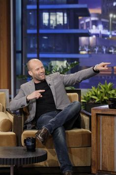 """Jason Statham visits 'The Tonight Show' """" With the release of his newest action flick under his belt, Jason Statham made an appearance on """"The Tonight Show with Jay Leno"""" on Friday (August 17). The..."""