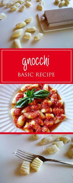Potato-gnocchi - a wonderful recipe for soft & delicious gnocchi. Moreover vegetarian, gluten-free (if you want) & so versatile 😍🍴   cucina-con-amore.com