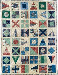 Nautical Flag Quilt in wedding colors | Quilting | Pinterest ... : nautical quilt blocks - Adamdwight.com