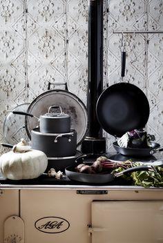 'Dark Indulgence' - @home's Winter 2013 Collection Jewel Tones, Color Schemes, Kitchen Appliances, Dark, Interior, Winter, Home, Collection, Gourmet