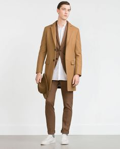 CAMEL COAT-View all-Outerwear-MAN | ZARA United States