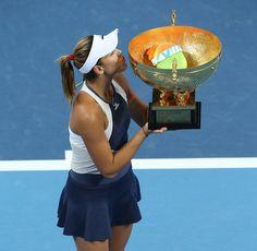 Garbiñe Muguruza gana el Abierto de China de tenis