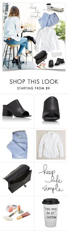 """Untitled #249"" by craftsperson ❤ liked on Polyvore featuring Madewell, 3.1 Phillip Lim, J.Crew, Proenza Schouler, Jane Iredale, STELLA McCARTNEY and distresseddenim"